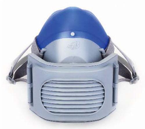 2618 Lightweight Comfortable Silicone Antidust Half Mask